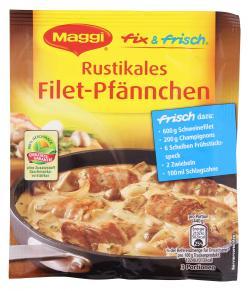Maggi fix & frisch Rustikales Filet-Pfännchen  (33 g) - 7613034887436