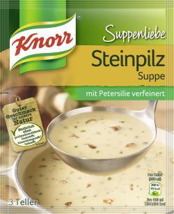 Knorr Suppenliebe Steinpilz Suppe  - 8712566403509