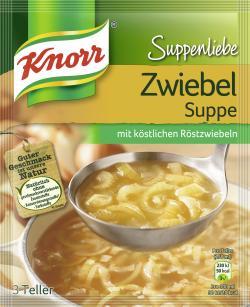 Knorr Suppenliebe Zwiebelsuppe  - 8712566410330