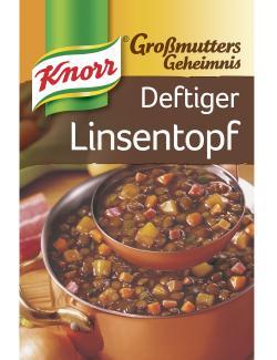 Knorr Großmutters Geheimnis Deftiger Linsentopf mit Speck  - 8712100405266
