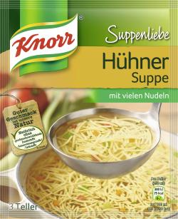 Knorr Suppenliebe Hühner Suppe  - 8712566332137