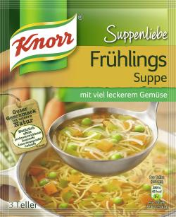 Knorr Suppenliebe Frühlings Suppe  - 8712566332175