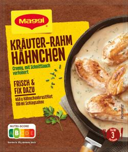 Maggi fix & frisch Kräuter-Rahm Hähnchen  (38 g) - 7613033950513