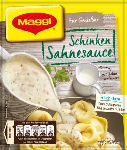 Maggi Für Genießer Schinken Sahnesauce  (33 g) - 7613032455071