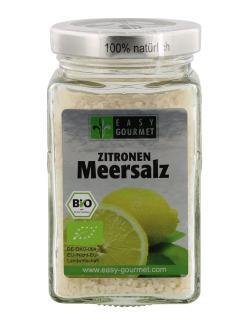 Easy Gourmet Bio Zitronen Meersalz  (200 g) - 4250115717034