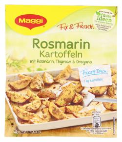 Maggi fix & frisch Rosmarin Kartoffeln  (28 g) - 7613034666956