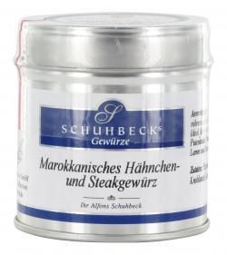 Schuhbecks Marokkanisches Hähnchen- und Steakgewürz  (50 g) - 4049162180676