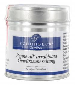 Schuhbecks Gewürz Penne all arrabbiata  (50 g) - 4049162180720
