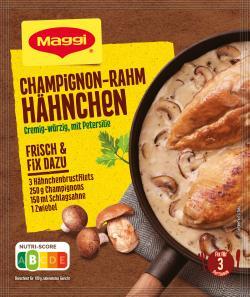 Maggi fix & frisch Champignon-Rahm Hähnchen  (36 g) - 7613035051324