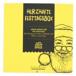 Just Spices Herzhafte Festtagsbox  (4 St) - 4260401176278