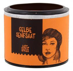 Just Spices Senfsaat gelb ganz  (39 g) - 4260401177077
