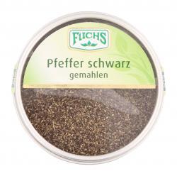 Fuchs Pfeffer schwarz gemahlen  (55 g) - 4027900444679