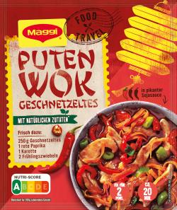 Maggi fix & frisch Puten-Wok Geschnetzeltes  (37 g) - 7613035235847