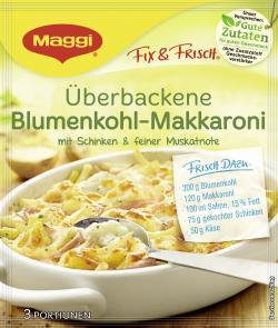 Maggi fix & frisch Überbackene Blumenkohl-Makkaroni  (43 g) - 7613035235526