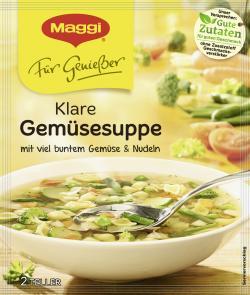 Maggi Für Genießer Klare Gemüsesuppe  - 7613035151826
