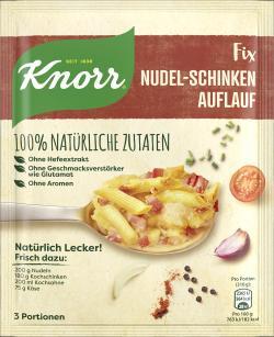 Knorr Natürlich Lecker! Nudel-Schinken Auflauf  (44 g) - 8712100817090