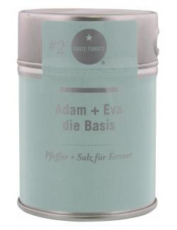 Tante Tomate Adam + Eva die Basis Pfeffer + Salz  (125 g) - 4260317760073