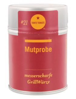 Tante Tomate Mutprobe messerscharfe GrillWürze  (60 g) - 4260317762008