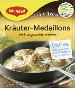 Maggi Fix & Frisch Kräuter Medaillons  (41 g) - 7613035348967