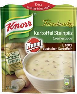 Knorr Feinschmecker Kartoffel Steinpilz Cremesuppe  - 8710908939747