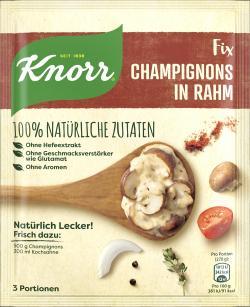 Knorr Natürlich lecker! Champignons in Rahm  (32 g) - 8710908956928