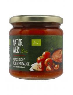 NaturWert Bio Tomatensauce mild  (350 ml) - 4083900130097