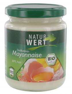 NaturWert Bio Delikatess-Mayonnaise  (250 ml) - 4009309672778