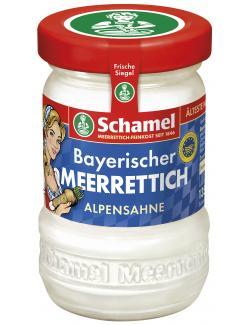 Schamel Bayerischer Meerrettich Alpensahne  (135 g) - 4000515007026