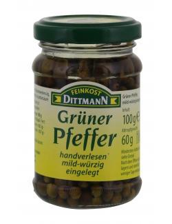Feinkost Dittmann Grüner Pfeffer  (60 g) - 4002239385008