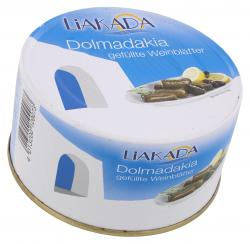 Liakada Dolmadakia Gefüllte Weinblätter mit Reis  (200 g) - 4013200109073