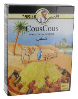 Al Amier CousCous reiner Hartweizengrieß  (500 g) - 4013200382001