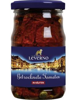 Leverno Getrocknete Tomaten in Öl mit Knoblauch und Kapern  (280 g) - 4013200334345