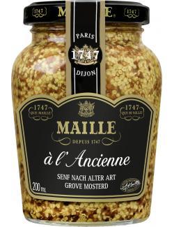 Maille Senf nach alter Art mit Weißwein  (200 ml) - 3036810207589