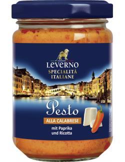 Leverno Pesto alla Calabrese Paprika & Ricotta  (145 ml) - 4013200333980