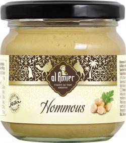 Al Amier Hommous Kichererbsencreme  (212 ml) - 4013200387723