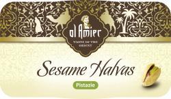 Al Amier Sesam-Halvas mit Pistazien  (100 g) - 4013200387600
