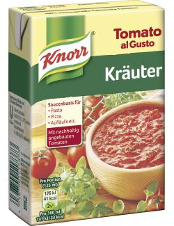 Knorr Tomato al Gusto Kräuter  (370 g) - 4038700117373