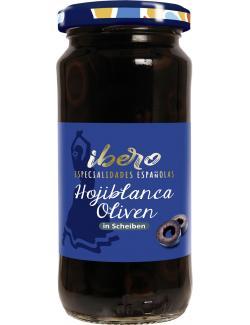 Ibero Spanische geschwärzte Oliven in Scheiben  (105 g) - 4013200555337
