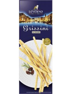 Leverno Grissini Integrali aus Volllkorn & Olivenöl  (125 g) - 4013200332136