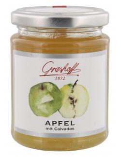 Grashoff Konfitüre extra Apfel mit Calvados  (250 g) - 4006375000504