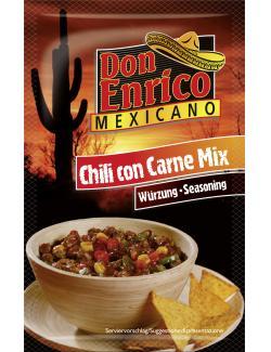 Don Enrico Chili Con Carne Mix  (40 g) - 4013200781545