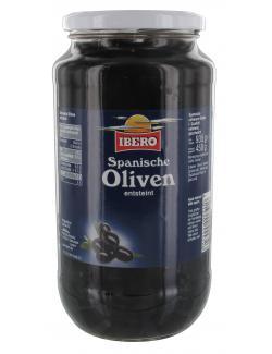 Ibero Spanische geschwärzte Oliven entsteint  (450 g) - 4013200555726