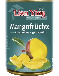 Lien Ying Mango-Früchte in Scheiben gezuckert  (230 g) - 4013200880323