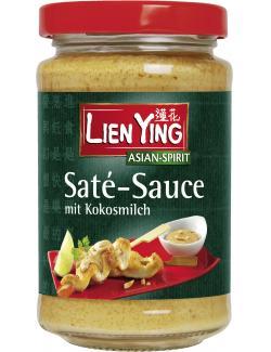 Lien Ying Saté-Sauce mit Kokosmilch  (200 ml) - 4013200881535