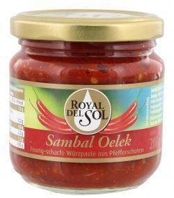 Royal del Sol Sambal Oelek  (200 g) - 4006099540508