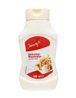 Jeden Tag Delikatess Mayonnaise mit Rapsöl  (500 ml) - 4306188046615