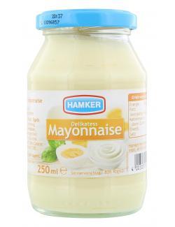 Hamker Delikatess Mayonnaise  (250 ml) - 4003035008207