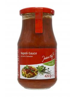 Jeden Tag Napoli-Sauce  (420 g) - 4306188047018