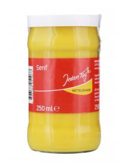 Jeden Tag Senf mittelscharf  (250 ml) - 4306188051077