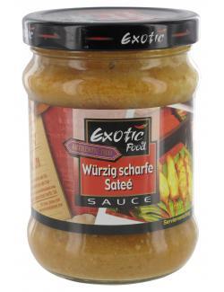 Exotic Food Scharfe Sateé Sauce  (200 g) - 8853662001135